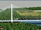 Miniaturka mostu Mazowieckiego Rzeszow