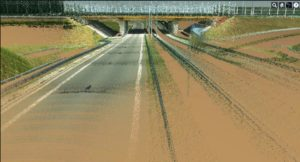 3- skan trasy drogowej